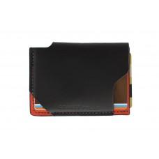 5ae11f9d9e35 Кард-кейс Grande Pelle CardCase piccolo 30411060 черный с красным