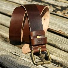 Кожаный ремень Grande Pelle Sorpresa 415772600 коричневый