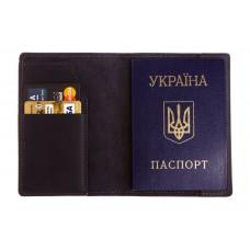 Обложка на паспорт Grande Pelle 255170 синяя