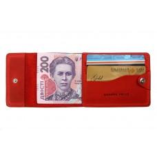 Кард-кейс Grande Pelle CardCase tentare 308160 матовая кожа красный