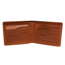 Портмоне Grande Pelle Onda 507123 коричневое