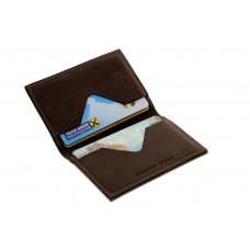 Кард-кейс Grande Pelle CardCase cartolina 303120 шоколад
