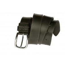 Кожаный ремень Grande Pelle Casual 43001120013 черный