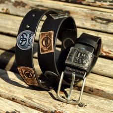 Ремень кожаный Grande Pelle Сonducente 430612305 черный