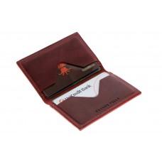 Кард-кейс Grande Pelle CardCase cartolina 303161 бордо