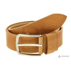 Кожаный ремень Grande Pelle Classico 432012300 рыжий