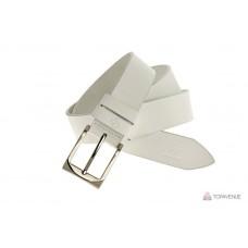 Кожаный ремень Grande Pelle Affari 302511200 белый