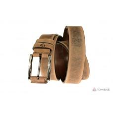 Кожаный ремень Grande Pelle Rigatura 312510901-1 тертый шоколад