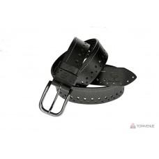 Кожаный ремень Grande Pelle Casual 43051120812 черный