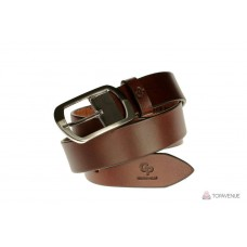Кожаный ремень Grande Pelle женский Domenica 316204741 каштан