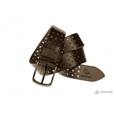 Кожаный ремень Grande Pelle Classico 411512308 шоколад