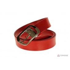 Кожаный ремень Grande Pelle женский Domenica 360204741 красный