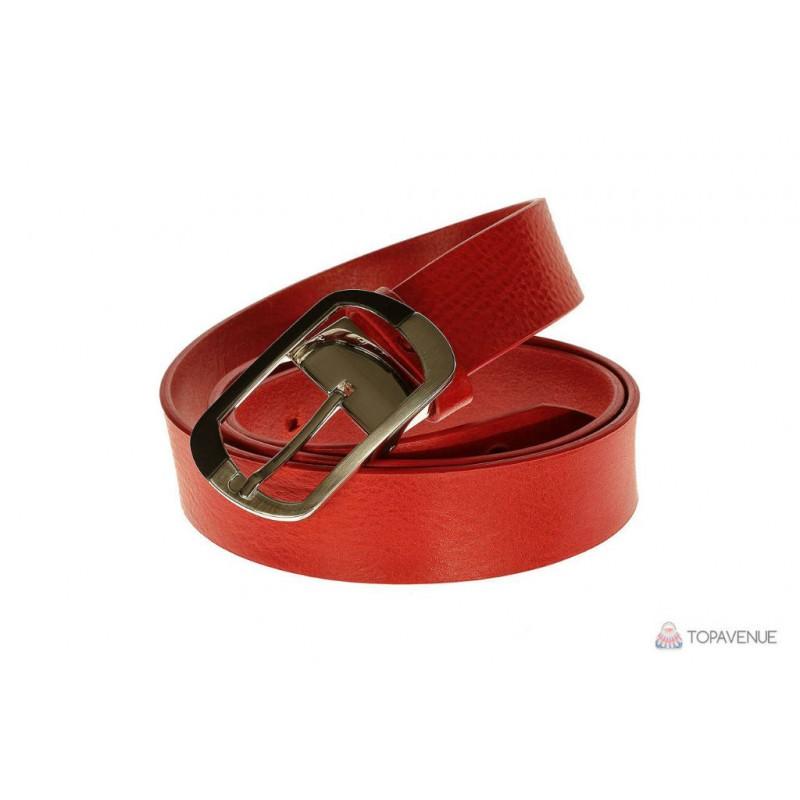 Красный кожаный ремень женский купить женские ремни портупея