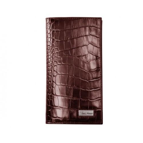 Портмоне IssaHara WB20 (22-00) коричневе крокодил