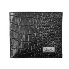 Портмоне IssaHara WB1 (21-00) черное крокодил