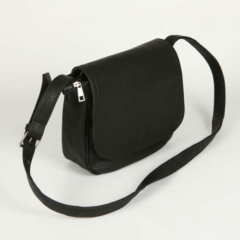 5d31d8f8c95b Женская сумка через плечо М52-16 черная — заказывайте недорого