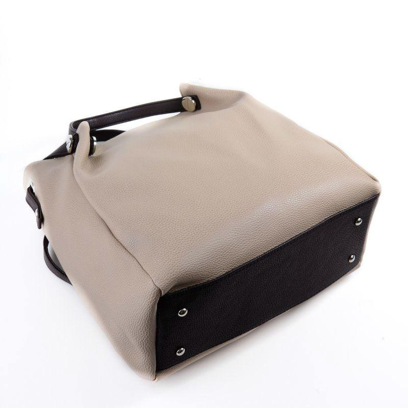 Жіноча сумка зі шкірозамінника М130-66 40 бежева від виробника ... 4437b3c1330f7