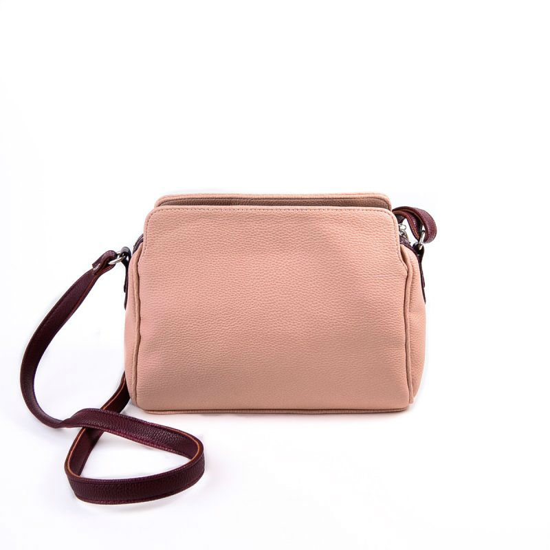 2a952d34b223 Женская сумка с длинным ремешком М128-65/37 розовая от производителя ...