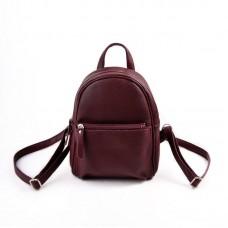Женский бордовый рюкзак М124-38