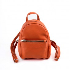 Женский мини-рюкзак М124-2 оранжевый