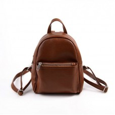 Женский молодежный рюкзак М124-41 коричневый