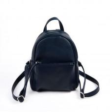 Женский рюкзак из экокожи М124-39 синий