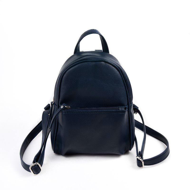 6086594bf46f Женский рюкзак из экокожи М124-39 синий от производителя «КАМЕЛИЯ ...