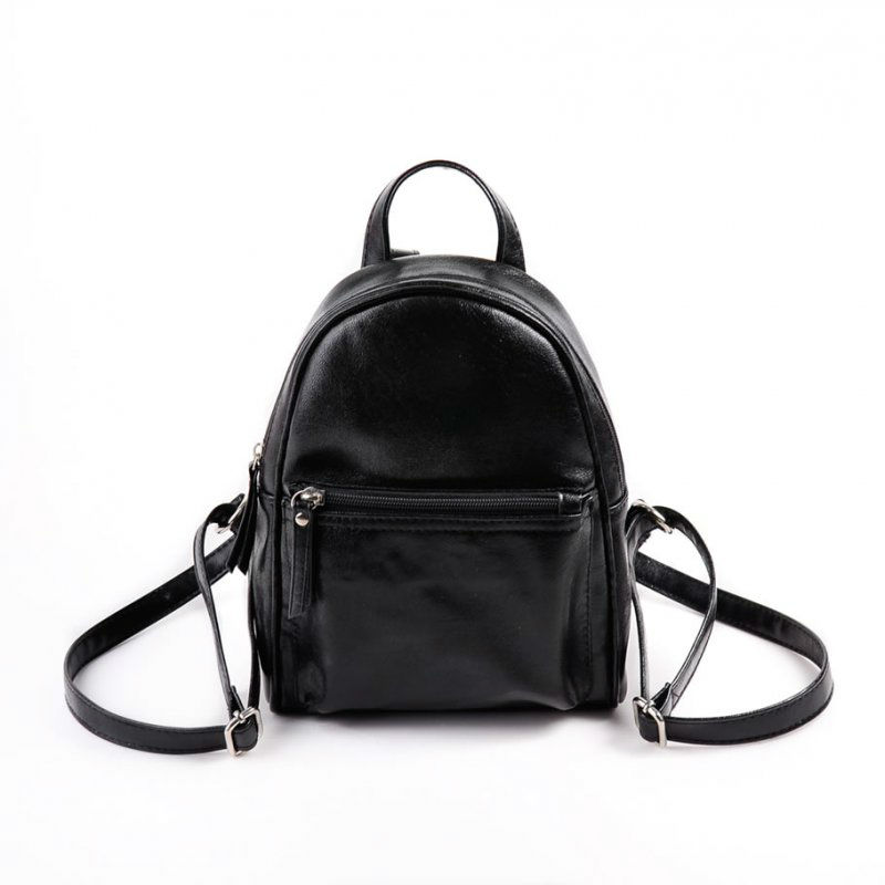 2c7ee3eededa Жіночий рюкзак з шкірозамінника М124-Z чорний від виробника «КАМЕЛІЯ ...