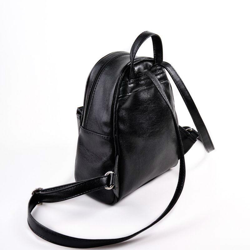 eb40a5830a7d Женский рюкзак из кожзама М124-Z черный от производителя «КАМЕЛИЯ ...