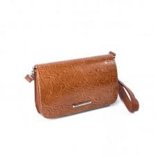 Женская сумка-клатч М63-205-5/1 коричневая