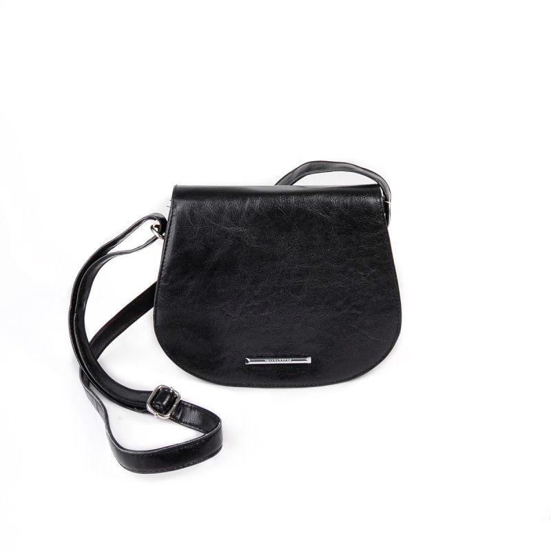 373ca94b63f3 Женская сумка через плечо М95-Z черная Камелия купить в Киеве недорого