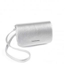 Женская сумка-клатч М63-72 серебро