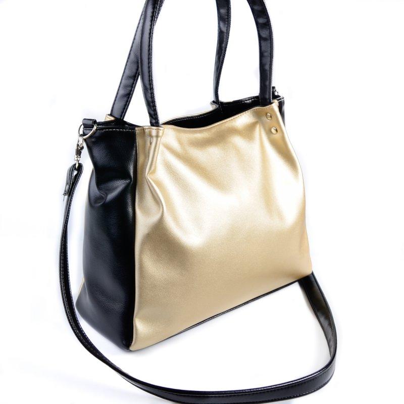9e07da3427a3 Женская сумка Камелия М166-95/Z золото+черный от производителя ...