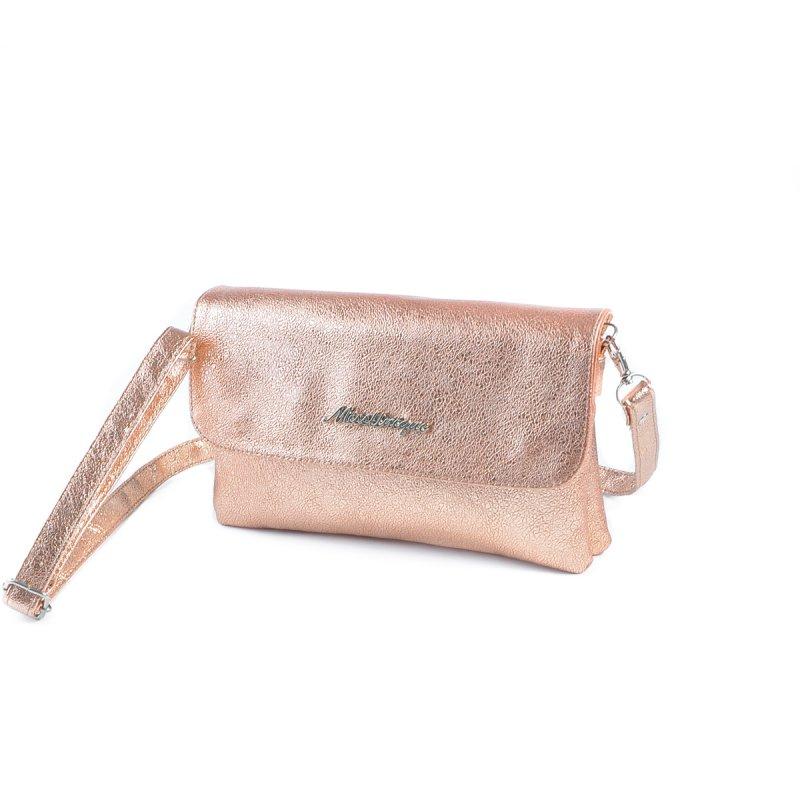 10822ee054ed Женская сумка на длинном ремне Камелия М110-89 бронза-золото от ...
