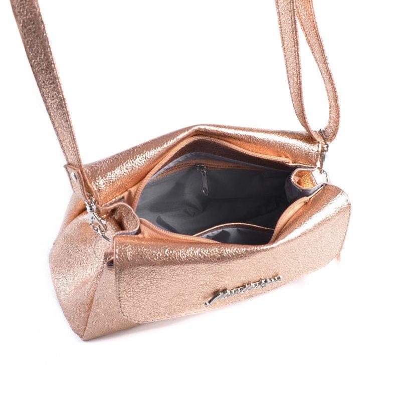 de62dcfb53e0 Женская мини-сумочка с ремешком Камелия М126-89 бронза-золото от ...