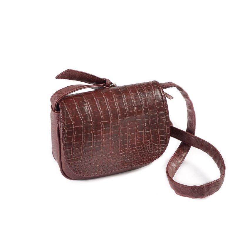 d966c8b59dee Женская сумка кросс-боди Камелия М55-37/38 бордовая от производителя ...