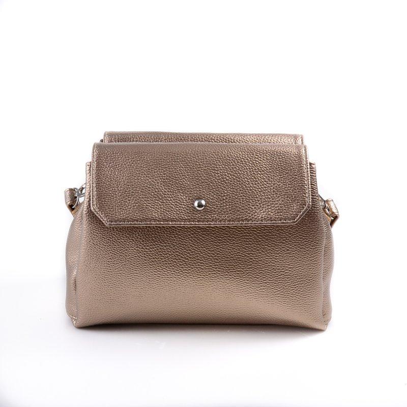 8a5a5e544cac ... Женская сумка с длинным ремешком Камелия М126-69 золотистая ...