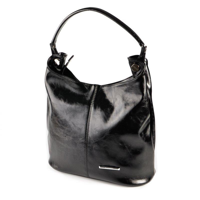 316eb7628006 Женская сумка-мешок Камелия М129-27 черная от производителя купить в ...