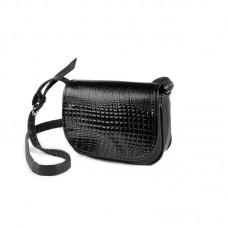 1bdcd12573b7 Женская маленькая сумочка под кожу питона Камелия М55-47/14 черная