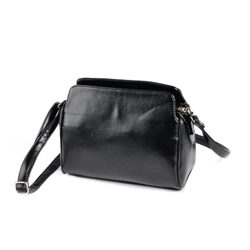 405846ebebf5 Женская сумка с длинным ремешком Камелия М128-Z/лак черная от ...