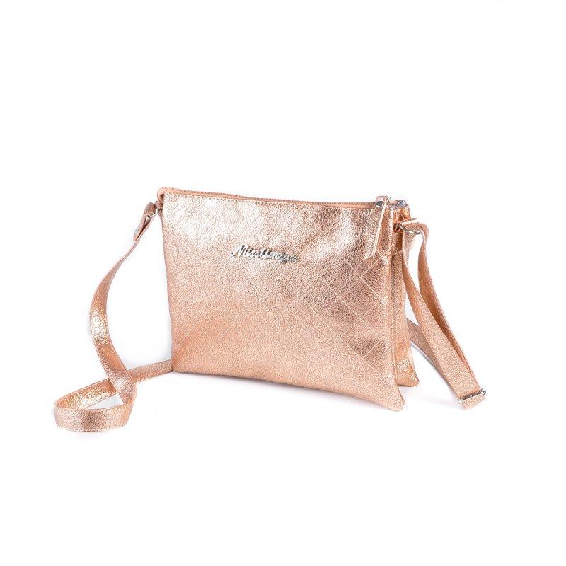 8f534ab0fc14 Женская сумка-шанель Камелия М105-89 бронза-золото от производителя ...