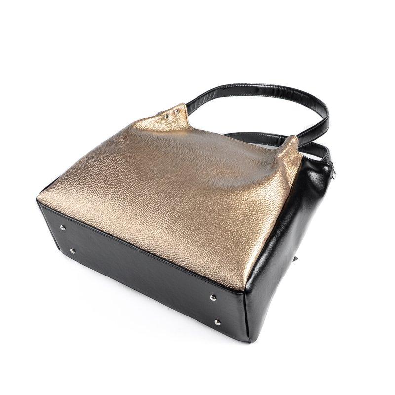 c3de9bf38969 Женская сумка Камелия М166-69/Z золото+черный от производителя ...