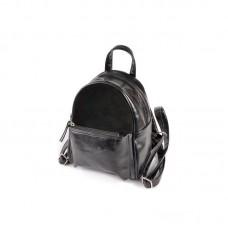 Жіночий маленький рюкзак Камелія М160-27 / замш чорний