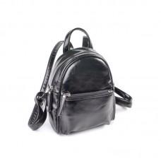 Женский маленький рюкзак Камелия М160-27 черный