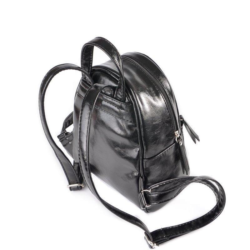 98ff41382ad2 Женский маленький рюкзак Камелия М160-27 черный от производителя ...