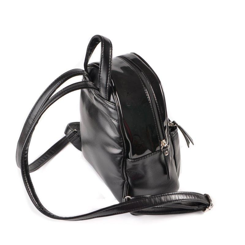 d33f91740ef1 Женский рюкзак из кожзама Камелия М124-Z/лак черный от производителя ...