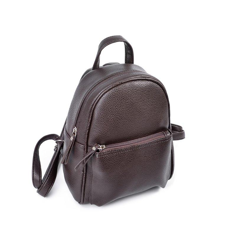 a7e0d6df7ce8 Женский маленький рюкзак Камелия М124-40 коричневый от производителя ...
