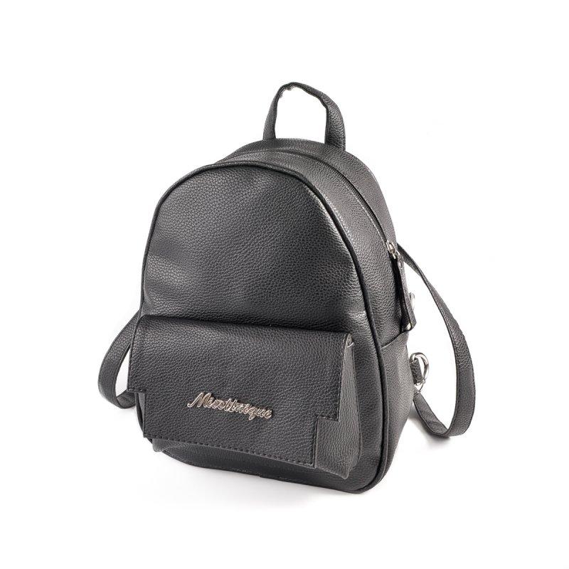 d4463421c23f Женский рюкзак из кожзаменителя Камелия М133-47 черный от ...