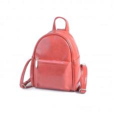 Женский маленький рюкзак Камелия М160-20 коралловый