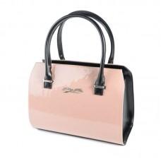 Женская лакированная сумка Камелия М50-80/33 розовая